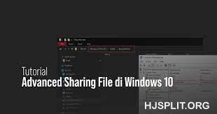 4 Metode Sharing File di Windows 10